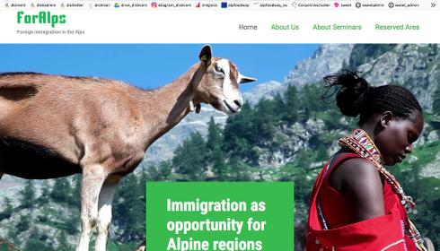 ForAlps: il gruppo di ricerca internazionale sull'immigrazione straniera nelle Alpi