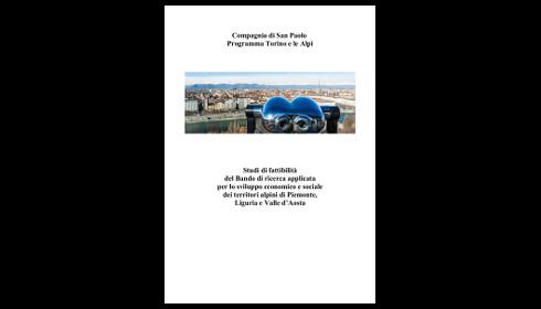 Pubblicazione delle ricerche del Bando Torino e le Alpi