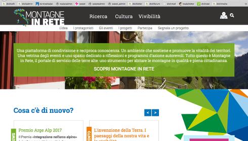 Montagne italiane in rete
