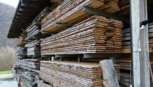 Nasce il primo piazzale di vendita legno piemontese doc