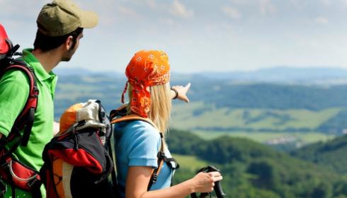 Giovanna*, turista di montagna