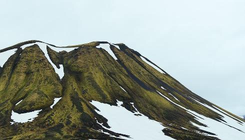 Se la montagna bianca si colora di verde
