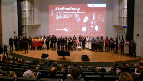 L'evento finale di AlpFoodway