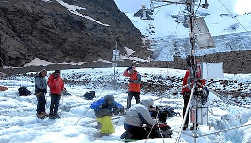 Monitoraggio dei ghiacciai dell'Alto Adige