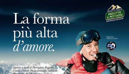 La pubblicità ingannevole del Parmigiano reggiano