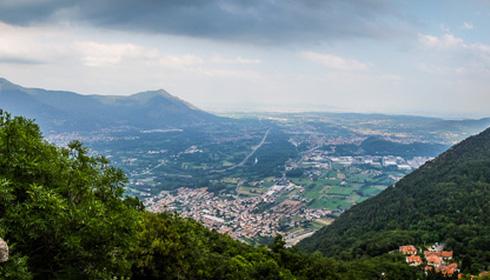 5 maggio: montagne e città