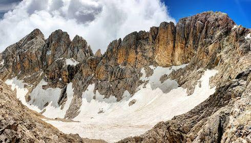 Il ghiacciaio del Calderone
